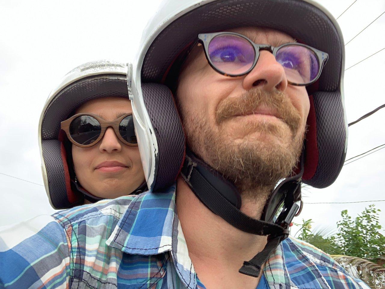 guidare lo scooter a Bali